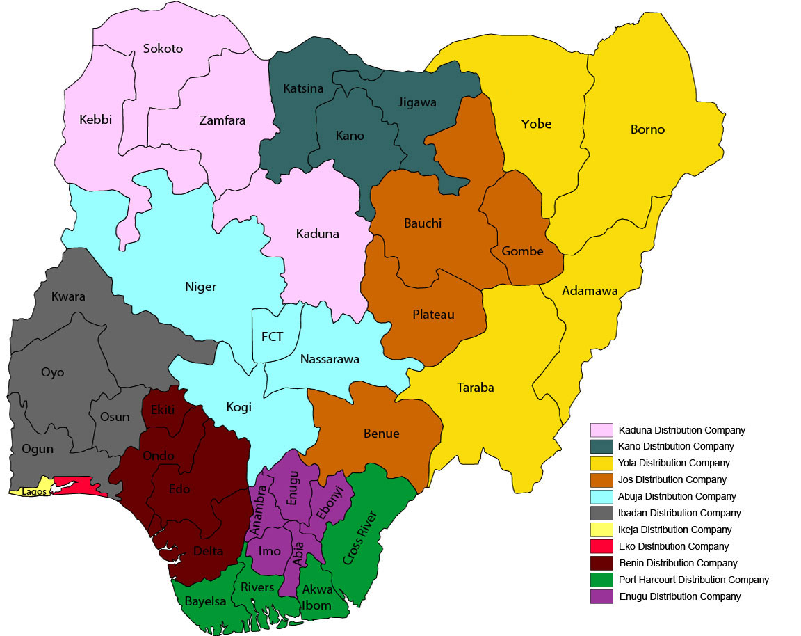 Electricity Distribution Companies in Nigeria